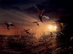terry redlin print...I have a few of his prints at the house already