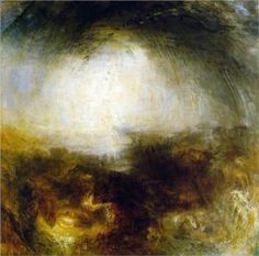 Joseph Mallord William Turner (1775-1851) Shade and Darkness, The Evening of The Deluge