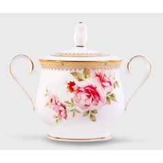 Noritake Hertford 11.5 Oz Sugar Bowl with Lid