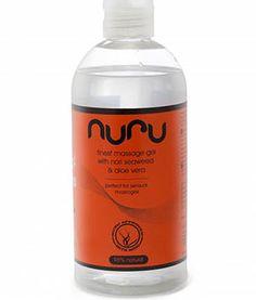 Nuru Gel 500 ml front Nuru Massage, Seaweed, Aloe Vera, Vodka Bottle, Drinks, Drinking, Beverages, Drink, Beverage