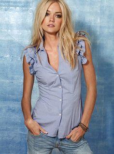 THE SEWING DORK: Victoria's Secret Knockoff Shirt tutorial