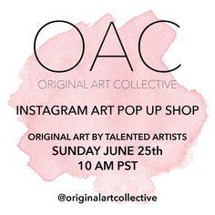 OAC Instagram Art Pop-Up Shop | The English Room