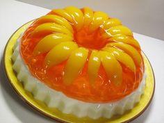 Retro Recipe: Peaches & Cream Jello Guest Post from Victoria Belanger: The Jello Mold Mistress of Brooklyn | The Kitchn