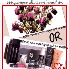 Valentines plans? Guys bring your Younique! She'll love it! www.youniqueproducts.com/franandrews