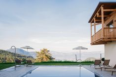 Alpine Wellness at HOTEL AM HANG in the heart of South Tyrol. Hotels, South Tyrol, Das Hotel, Marina Bay Sands, Wellness, Heart, Building, Travel, Vacation