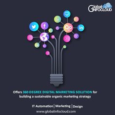 Global infocloud Offers a 360-degree digital marketing solution for building a sustainable organic marketing strategy. #WebsiteInboundMarketing #AppMarketing #LeadGeneration #SearchEngineOptimization #digitalindia #automation #digitalautomation #businessautomation #itautomation #startupindia #globalinfocloud #discover #learn #evolve App Marketing, Digital Marketing, Usability Testing, Digital India, Application Development, New Opportunities, Lead Generation, Search Engine Optimization, Organic