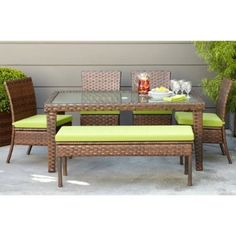 outdoor patio set for the deck $800 if I replace two chairs with a bench