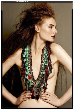necklace by Anita Quansah London