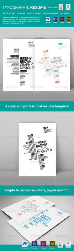 Black \ White Resume An, Curriculum and For sale - one page resumes