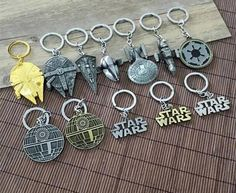 Cheap star wars bb8, Buy Quality star wars directly from China star trek Suppliers:    Super Hero X-men The Avengers Star Wars Keychain Keyrings Minifigure Toys Captain America Iron man Falcon Millenium K
