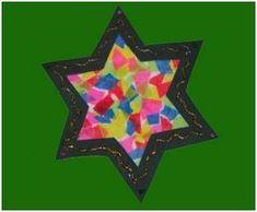 Basteln mit Kindern - Ideen für den Advent: Basteln Sie mit Ihrem Kind einen bunten Weihnachtsstern aus Tonpapier und Transparentpapier. Den Stern können Sie im Advent zur Dekoration in Ihrer Wohnung aufhängen.