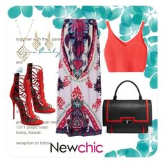 """""""Newchic 29"""" by dinka1-749 ❤ liked on Polyvore featuring Givenchy and Giuseppe Zanotti"""