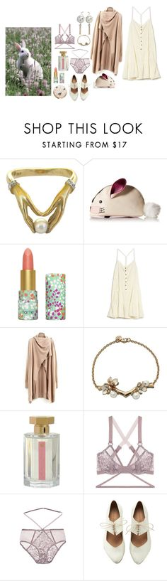 """How to wear the spring equinox"" by ghoulnextdoor ❤ liked on Polyvore featuring Carrera, Betsey Johnson, tarte, Current/Elliott, L'Artisan Parfumeur, Lonely and Paul & Joe Beaute"