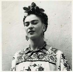 "www.jaxsprats.com #quotes Magdalena Carmen Frieda Kahlo y Calderón was born in Mexico. Her work, style, bravado, and wit, still continues to inspire around the world.   ""I paint flowers so they will not die.""  ""They thought I was a Surrealist, but I wasn't. I never painted dreams. I painted my own reality."""