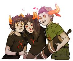 Ok but imagine if somehow the Homestuck and Hiveswap universes crossed. Imagine Xefros learning about this strong burgundy blood and how she saved all of her friends who happened to be of higher bloods. Learning about all the things she did, what burgundy bloods are capable of