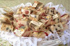 Detalles de boda. Jabones naturales hechos a mano