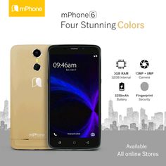 #mPhone6: Available Four Stunning #Colors #Smartphone #Android #3GBRAM #3250mAh Battery  www.mphone.org