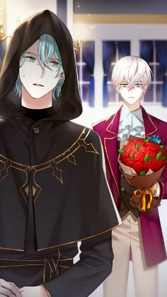 V and Ray  Mystic Messenger - Another Story