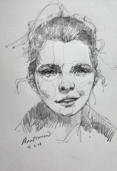Drawing by Saera, 1st face drawing.  Thank you so much Ellen :)...