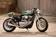Red Max Speed Shop Cafe Racer