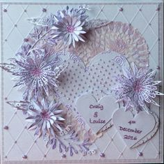 Linda Whitton Tattered Lace Cards, Your Cards, Projects To Try, Pretty, Design, Cards