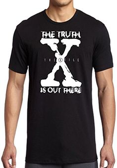 X File Truth Is Out There - UFO - Mens T-Shirt - Black - ... https://www.amazon.co.uk/dp/B00VCY9ZH2/ref=cm_sw_r_pi_dp_x_0UM8xbWYK2B3B