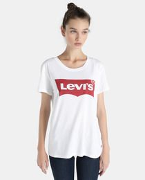 Women's Levi's® Logo Pullover Hoodie (155.545 COP) ❤ liked
