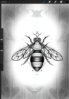 Tattoo Templates, Marvel Tattoos, Blackwork, Ideas Para, Drawings, Floral, Top, Design, Insects