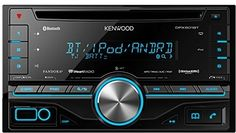 Kenwood Double Din CD Receiver with Built in Bluetooth DPX501BT By James Fleming | June 27, 2015 - 2:47 pm | Car Audio 2 Comments