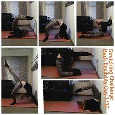 Back flexibility poses.