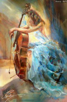 Anna Razumovskaya | Russian Figurative painter | Tutt'Art@ | Pittura * Scultura * Poesia * Musica |