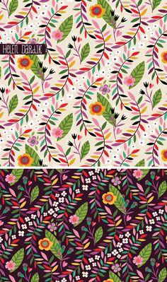 orange you lucky! - Helen Dardik - The most creative designs Textile Patterns, Color Patterns, Print Patterns, Magazine Illustration, Pattern Illustration, Book Illustration, Surface Pattern Design, Pattern Art, Illustrator