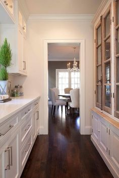 Butlers Pantry + French Casement Cabinets