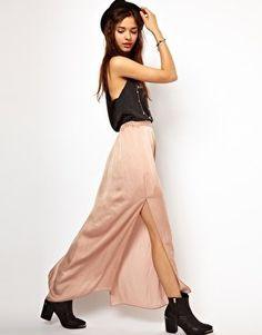 #asos                     #Skirt                    #River #Island #Washed #Satin #Maxi #Skirt #asos.com                          River Island Washed Satin Maxi Skirt at asos.com                              http://www.seapai.com/product.aspx?PID=1346743