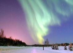 Finland. Northern Lights.