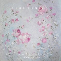"My new painting ""Rose Dream"" is available at www.debicoules.com"
