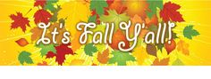 Happy Fall Ya'll!  Decorations to FALL for and a Giveaway