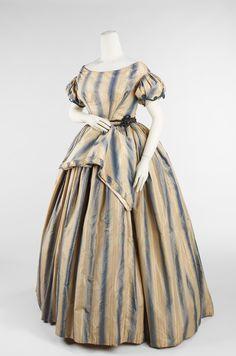 OMG that dress! Evening Dress  1848  The Metropolitan Museum of Art