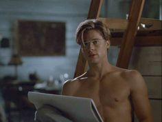 """verletzt: """"Brad Pitt in Thelma & Louise - Thelma Louise, Brad Pitt Shirtless, Brad Pitt Images, Johnny Depp Leonardo Dicaprio, Bratt Pitt, Brad Pitt Hair, Young Brad Pitt, Grunge, Wattpad"""