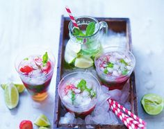 Summer Vibes Strawberry & Mint Mojitos  - Mama et Moi Blog