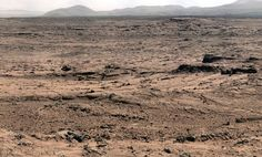 The surface of Mars, taken by NASA's Curiosity Rover