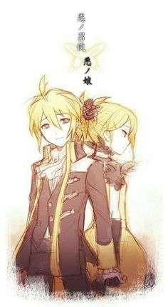 Vocaloid Story of evil Rin y Len kagamine Hatsune Miku, Kaito, Rin E Len, Kagamine Rin And Len, I Love Anime, Awesome Anime, Kawaii Anime, Anime Girls, Servant Of Evil