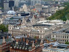 Big Ben e il Palazzo del Parlamento (Londra) (Vista dalla ruota panoramica)