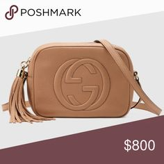 Gucci Soho small leather disco bag - Beige Great condition - box, dust bag,  all inside tissues, receipt Gucci Bags Crossbody Bags 670ffa0dc1