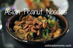 One-Pot Asian Peanut Noodles | Five Dollar Dinners