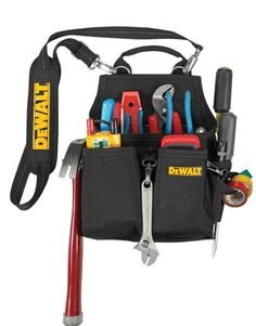 14-Pocket Professional Electrician's Tool Pouch