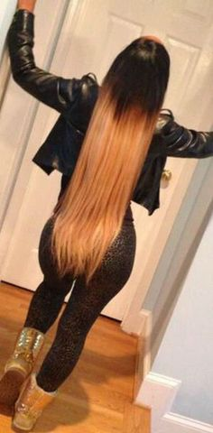 4Pcs 6A Ombre Hair Extension Brazilian Remy Hair Silky Straight Cheap Human Virgin Hair Weft Ombre Hair Weave Color#1b #27