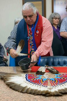 Indianz.Com > Spiritual leader of Lipan Apache Tribe back in court over feathers