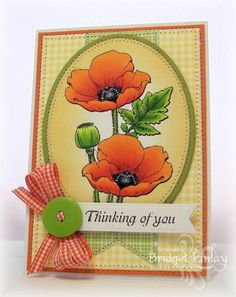 Orange Poppies by bfinlay - Cards and Paper Crafts at Splitcoaststampers