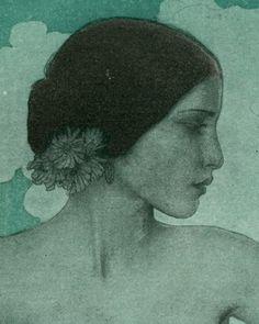 Illustration (detail) for Hearst Magazine by Wladyslaw T. ('W.T.') Benda (1873-1948)